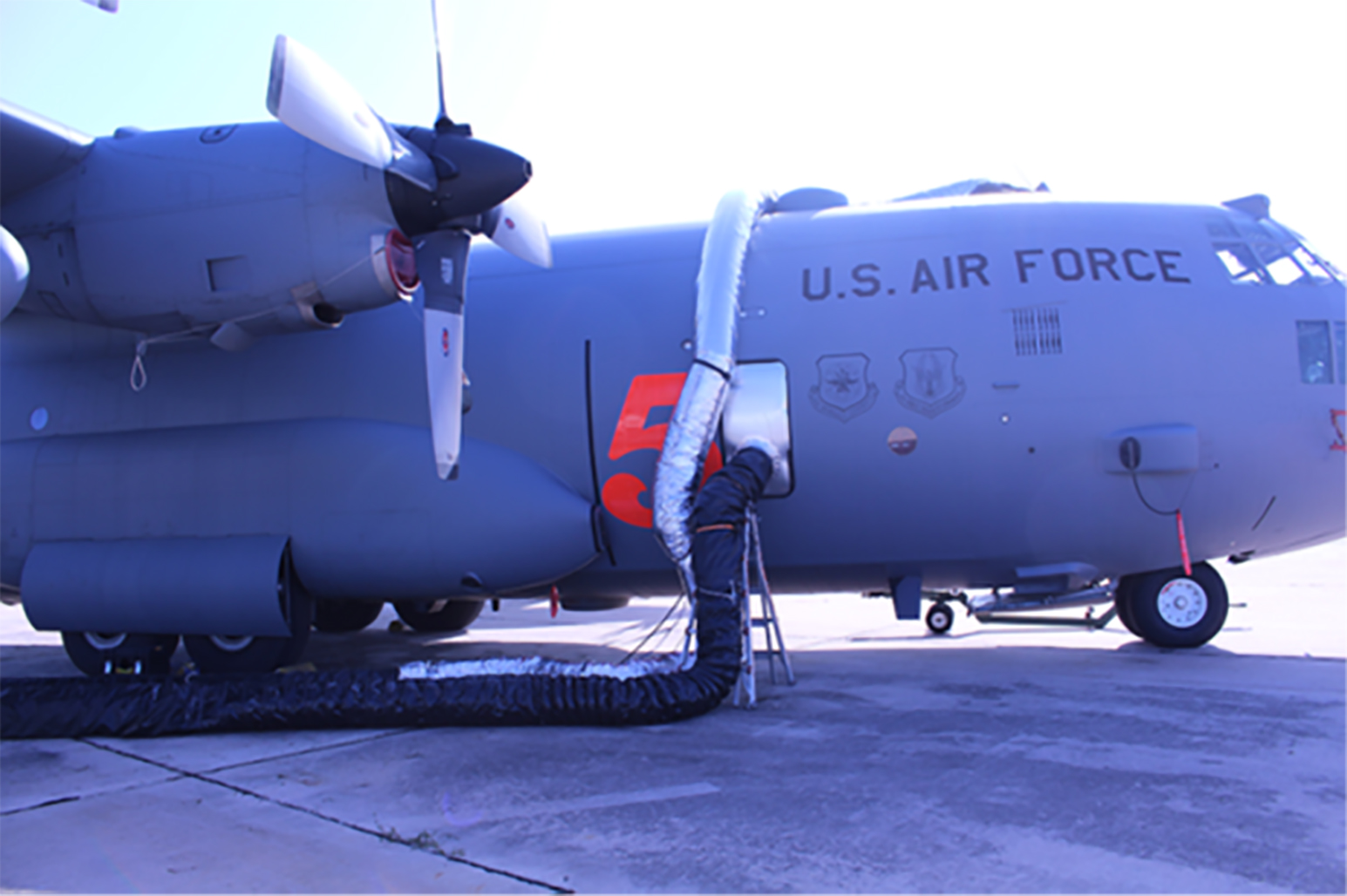 Bio and Nano tech team from UES pairs with AFRL team to fight COVID-19 by decontaminating aircrafts for the Air Force.