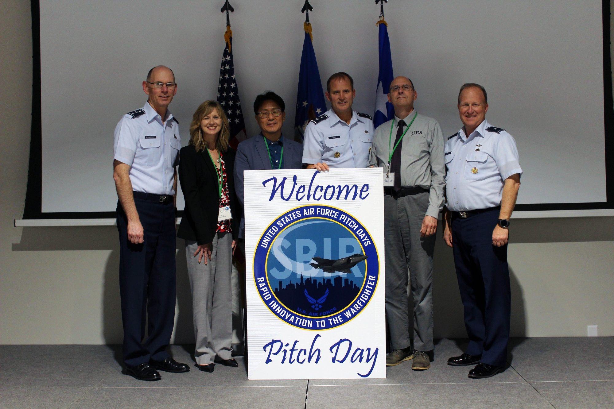 UES at the first ever Hypersonics Pitch Day at Doolittle Institute