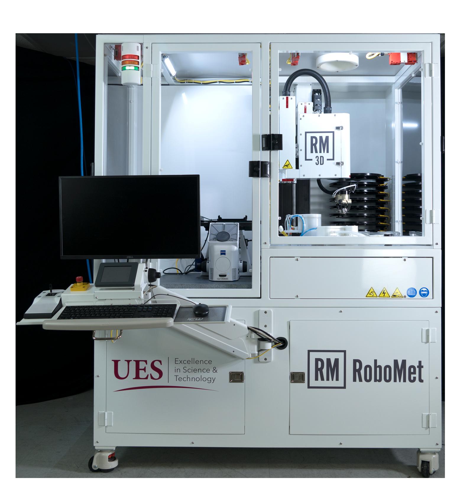 Robo-Met.3D Serial Sectioning Material Testing Equipment