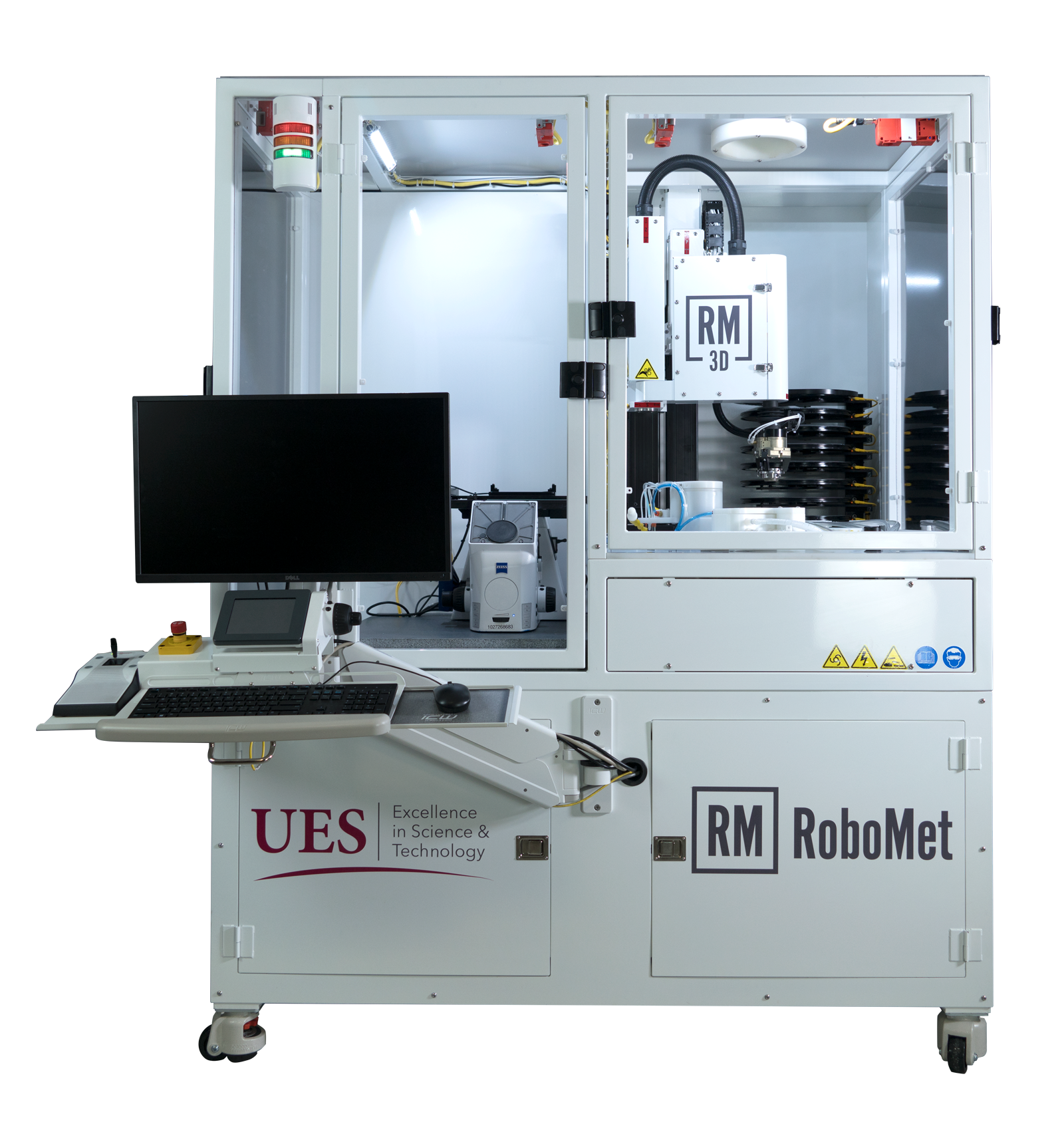 Robo-Met.3D Serial Sectioning Material Testing Equipment