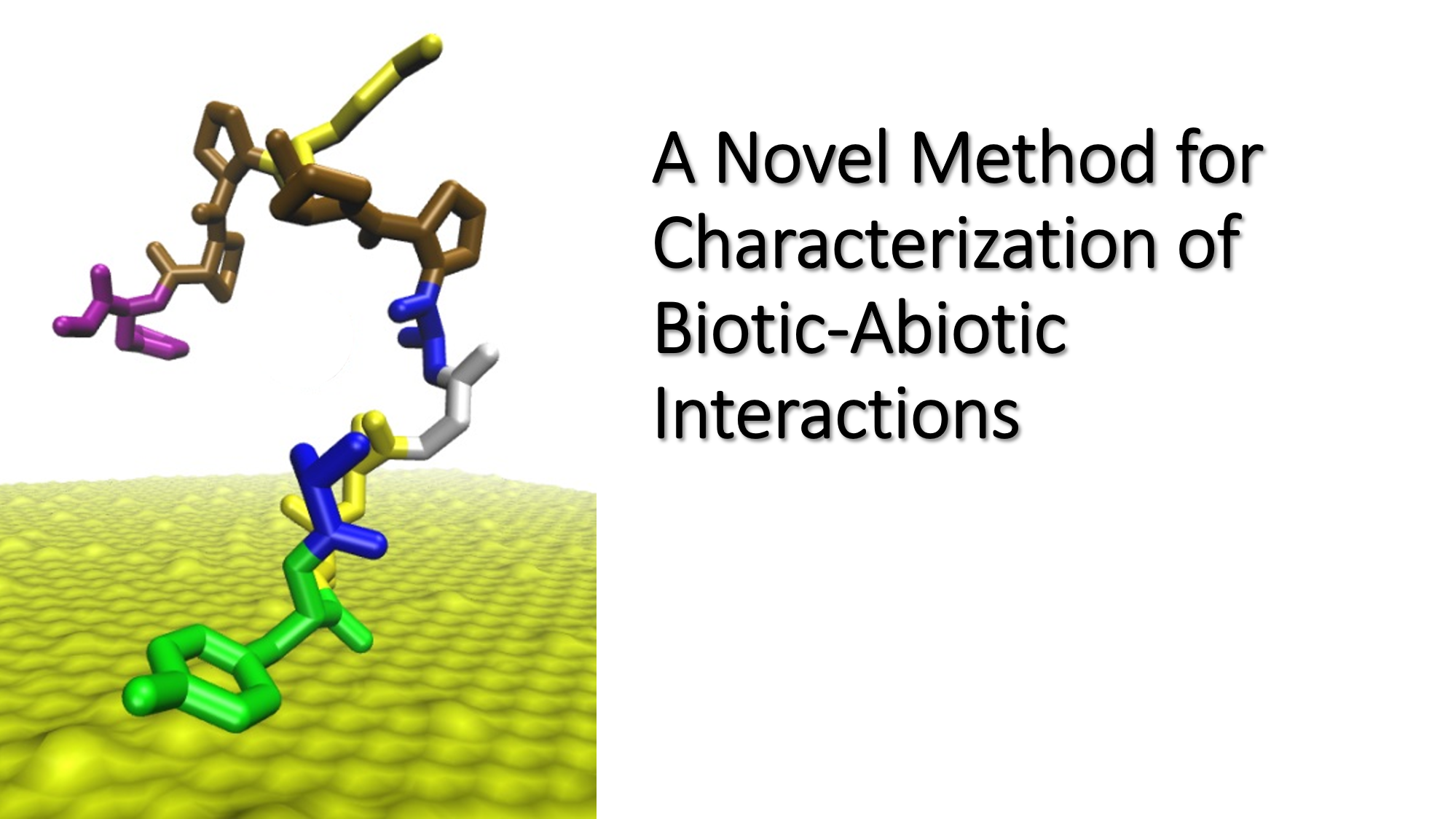 A Novel Method for Characterization of Biotic-Abiotic Interactions