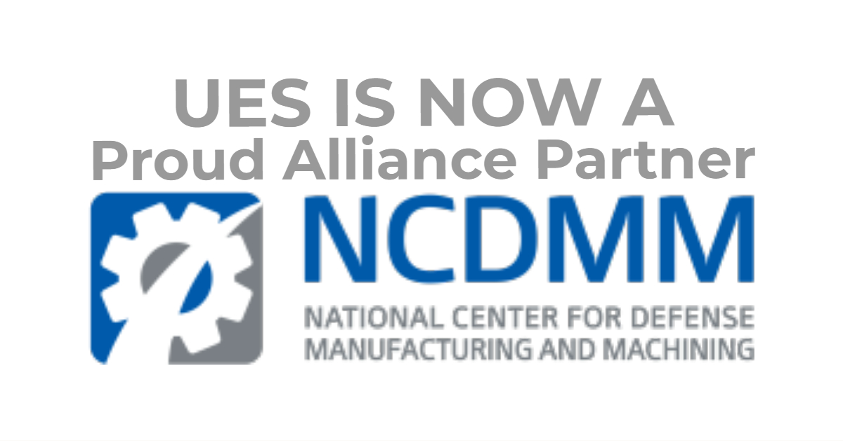 UES joins the NCDMM as an Alliance Partner
